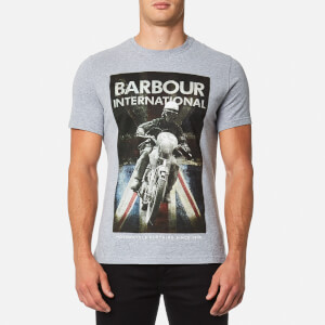 Barbour International Men's Shift T-Shirt - Grey Marl