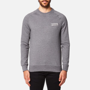 Barbour X Steve McQueen Men's Issue Crew Sweatshirt - Slate Grey