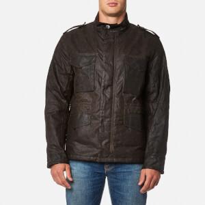 Barbour X Steve McQueen Men's Field Wax Jacket - Olive