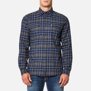 Barbour Men's Keel Check Shirt - Navy