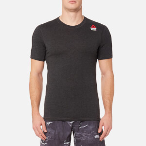 Reebok Men's CrossFit Performance Blend Short Sleeve T-Shirt - Black