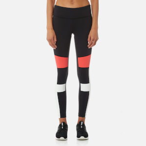 Reebok Women's Lux Colour Block Tights - Black