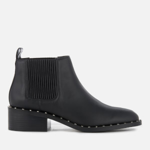 Senso Women's Darcy I Leather Heeled Chelsea Boots - Ebony