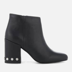 Senso Women's Jules I Leather Heeled Ankle Boots - Ebony