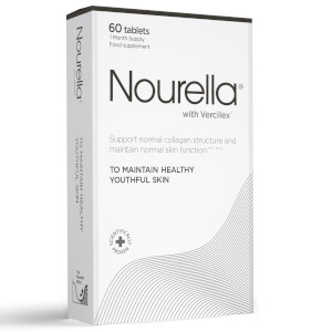 Nourella Maintain Healthy Youthful Skin Active Supplements - 60 tabletter (én måneds bruk)