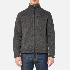 Polo Ralph Lauren Men's Fleece Jacket - Windsor Heather