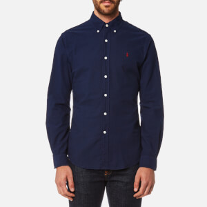 Polo Ralph Lauren Men's Garment Dye Oxford Shirt - Windsor Navy