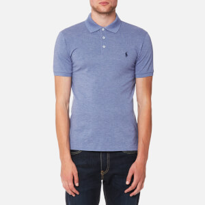 Polo Ralph Lauren Men's Stretch Mesh Polo Shirt - Campus Blue