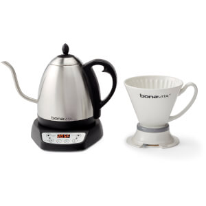 Bonavita BV382510V 1L Gooseneck Variable Temperature Electric Kettle - Stainless Steel