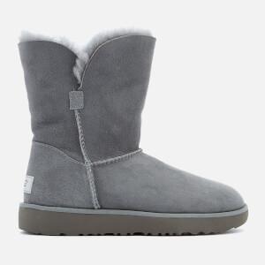 UGG Women's Classic Cuff Short Sheepskin Boots - Geyser