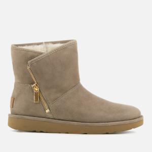 UGG Women's Kip Suede Zip Side Boots - Clay