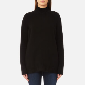 Polo Ralph Lauren Women's Long Sleeve Mock Neck Jumper - Black