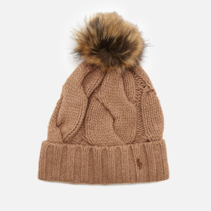 Polo Ralph Lauren Women's Rope Hat - Camel
