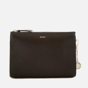 DKNY Women's Sutton Small Top Zip Cross Body Bag - Black