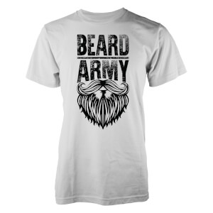 Beard Army Men's White Insignia T-Shirt