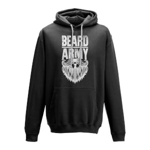Beard Army Men's Black Insignia Hoodie