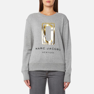 Marc Jacobs Women's Double J Sweatshirt - Grey Melange