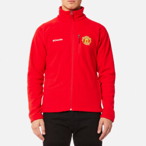 Columbia Men's Manchester United Fast Trek II Full Zip Fleece Jacket - Cherrybomb
