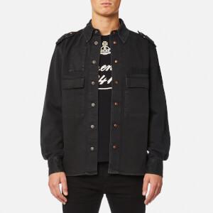 Vivienne Westwood Anglomania Men's Berry Shirt - Black