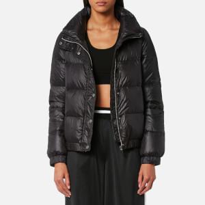 DKNY Sport Women's Funnel Neck Down Puffer Jacket - Black