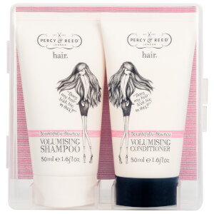 Percy & Reed e sair! Duo de Shampoo e Condicionador de Volume Bountifully Bouncy 2 x 50 ml