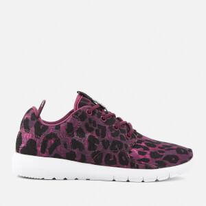 Superdry Sport Women's Scuba Sport Running Shoes - Burgundy Sport Leopard