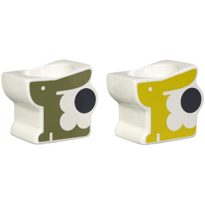 Orla Kiely Bonnie Bunny Egg Cup - Multi (Set of 2)