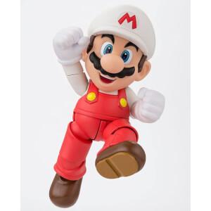 Super Mario Bros. S.H. Figuarts Fire Mario Tamashii Web Exclusive 10cm Action Figure