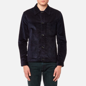 PS by Paul Smith Men's Cord Shirt Jacket - Navy