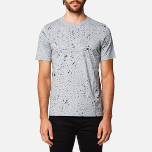 PS by Paul Smith Men's All Over Print T-Shirt - Grey
