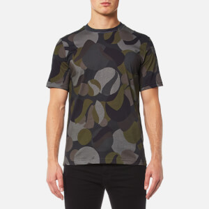 PS by Paul Smith Men's Camo Pattern T-Shirt - Multi