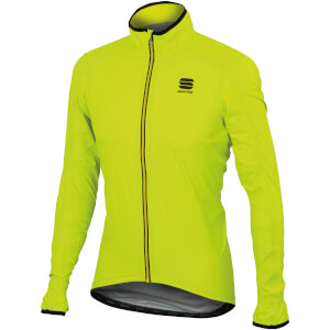 Sportful Stelvio Jacket - Yellow Fluo