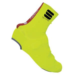 Sportful Fiandre Knit Bootie - Yellow Fluo