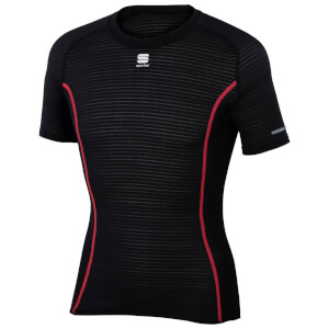 Sportful BodyFit Pro Short Sleeve Baselayer - Black