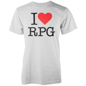 I Love RPG Men's White T-Shirt