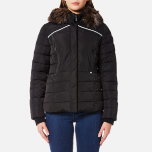Superdry Women's Glacier Biker Coat - Black