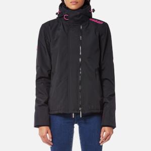 Superdry Women's Arctic Windcheater Jacket - Black/Raspberry