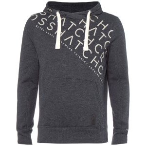 Crosshatch Men's Leeroy Hoody - Night Sky Marl