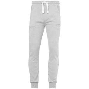 Crosshatch Men's Leeroy Sweatpants - Light Grey Marl