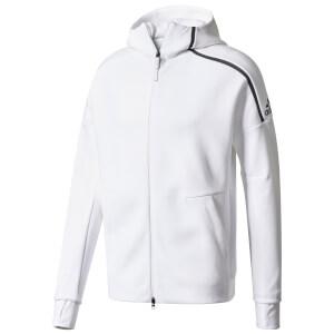 adidas Men's ZNE Training Hoody - White