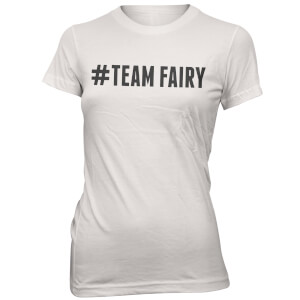 Hashtag Team Fairy Women's White T-Shirt