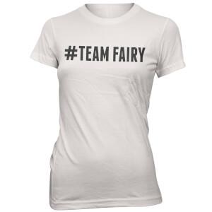 T-Shirt Femme Hashtag Team Fairy - Blanc
