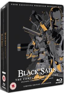 Black Sails: 1-4 - Limited Edition Steelbook