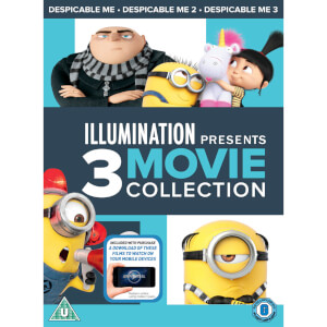 Despicable Me 1-3 Boxset (Includes Digital Download)