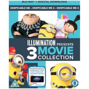 Despicable Me 1-3 Boxset (Includes Digital Download)