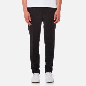 AMI Men's Carrot Fit Trousers - Black