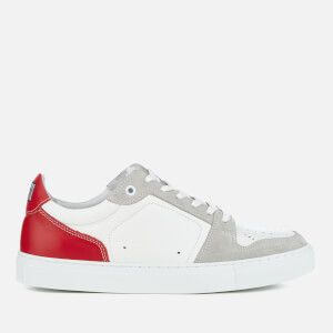 AMI Men's Low Top Trainers - Red