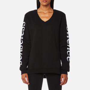 McQ Alexander McQueen Women's V-Neck Sweatshirt - Black
