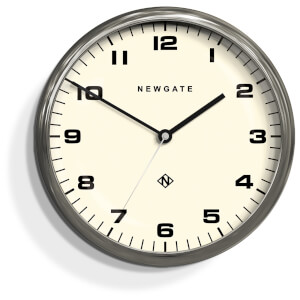newgate chrysler wall clock burnished stainless steel