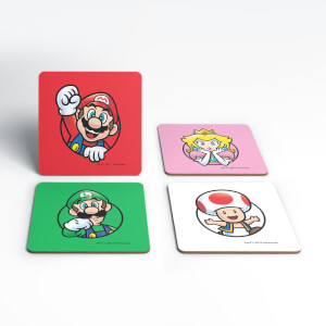 Nintendo Super Mario Good Guys Coaster Set